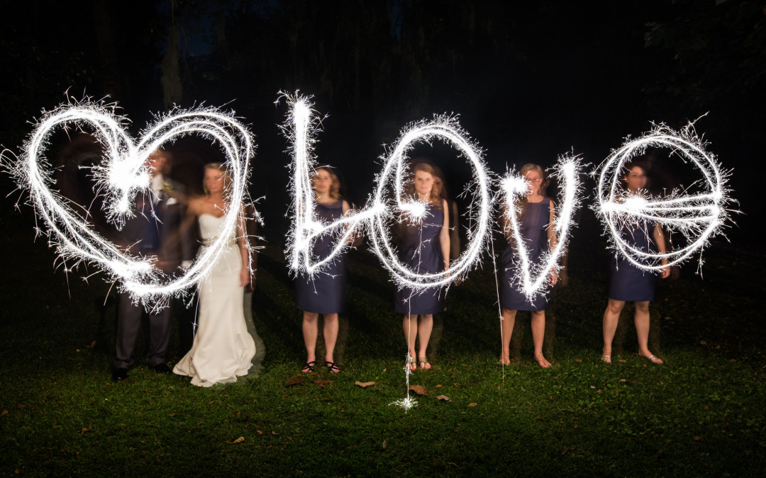 Brent & Erica- Adam's Pond, Columbia SC Wedding