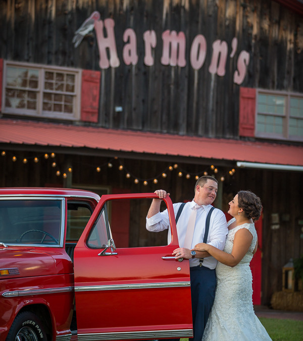 Lauren & Cory- Harmon's Tree Farm, Lexington SC Wedding