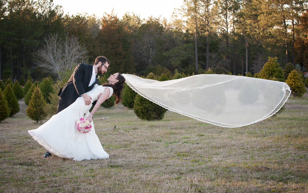 Morgan & Eric- Harmon's Tree Farm, Lexington SC Wedding