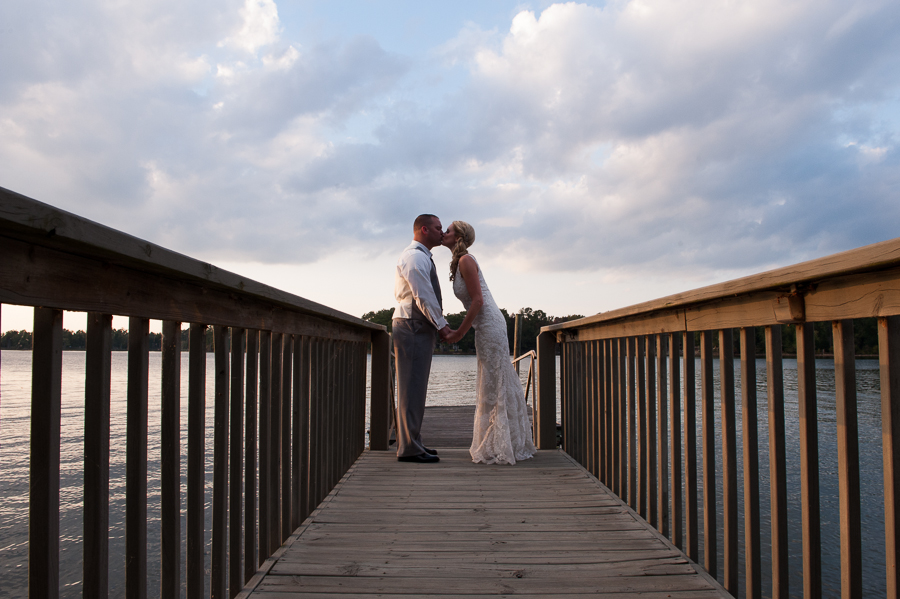 Jennifer & Lawton- Lake Murray SC Wedding