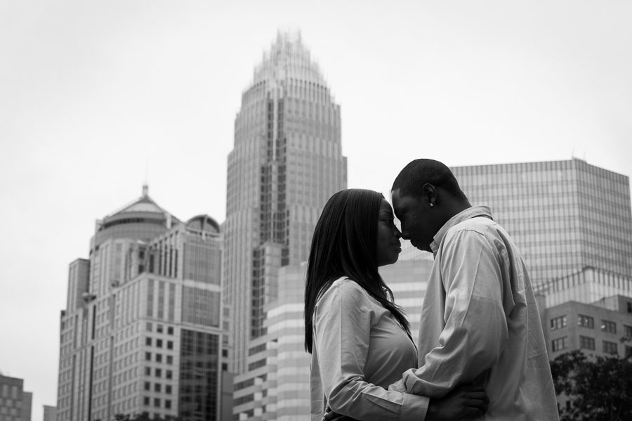 David & Ashlee- Engagement Session, Charlotte NC