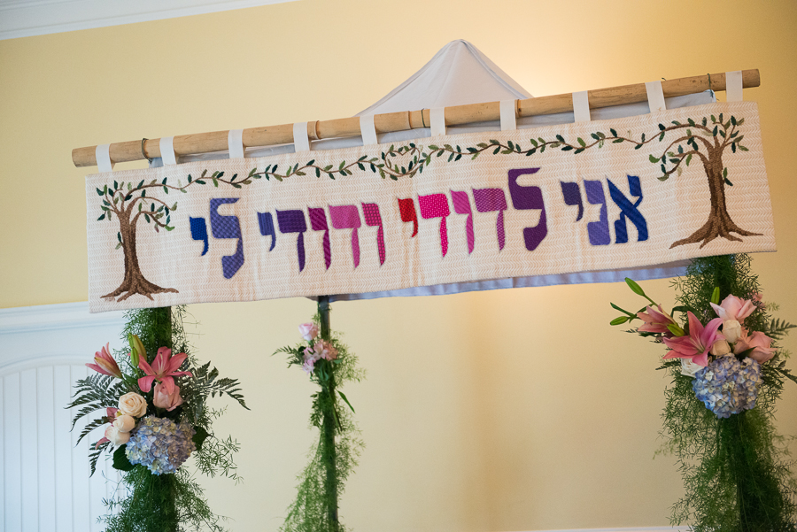 Erin & Rafi Featured on the Modern Jewish Wedding Blog