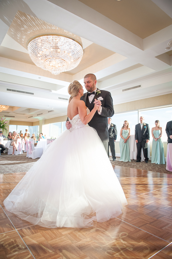 First dance at the capital city club ballroom