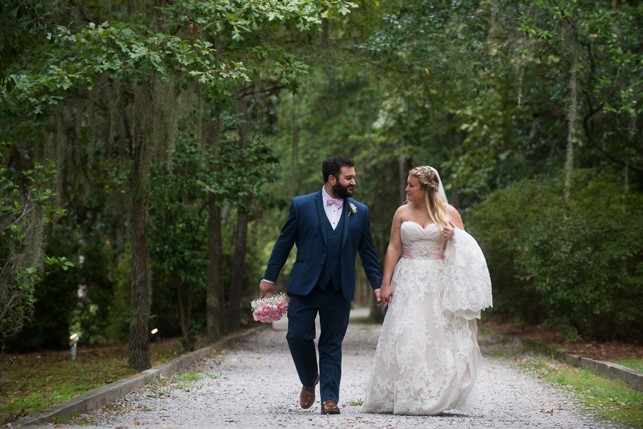 Chelsea & Jared – The Millstone at Adam's Pond, Columbia SC Wedding