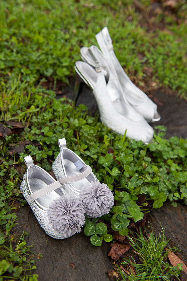 Baby wedding shoes