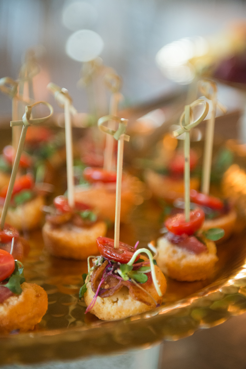 Capital City Catering wedding appetizer