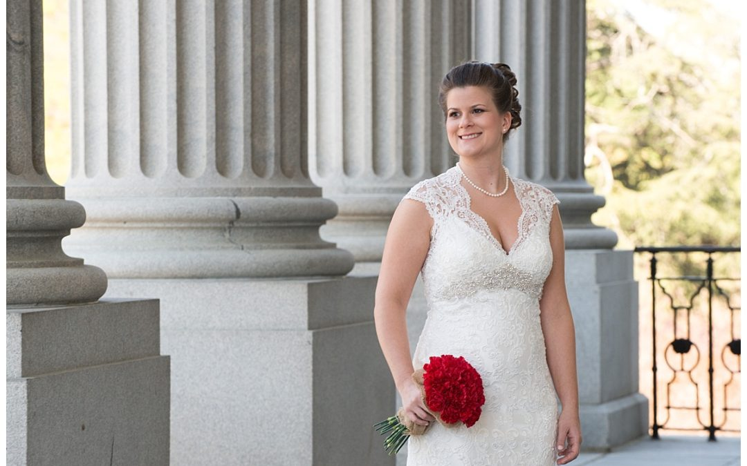 Katie's State House Bridal Portraits