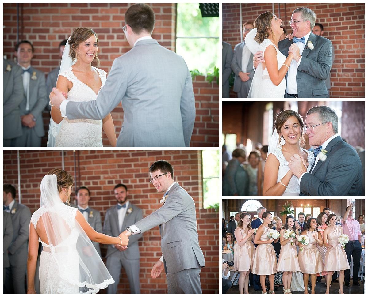 first dances at the hall