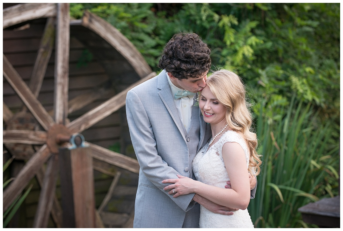Romantic photo at the Corley Mill House