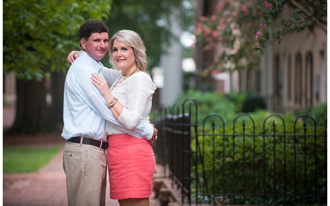 Abbie & John's Downtown Columbia Engagement Session