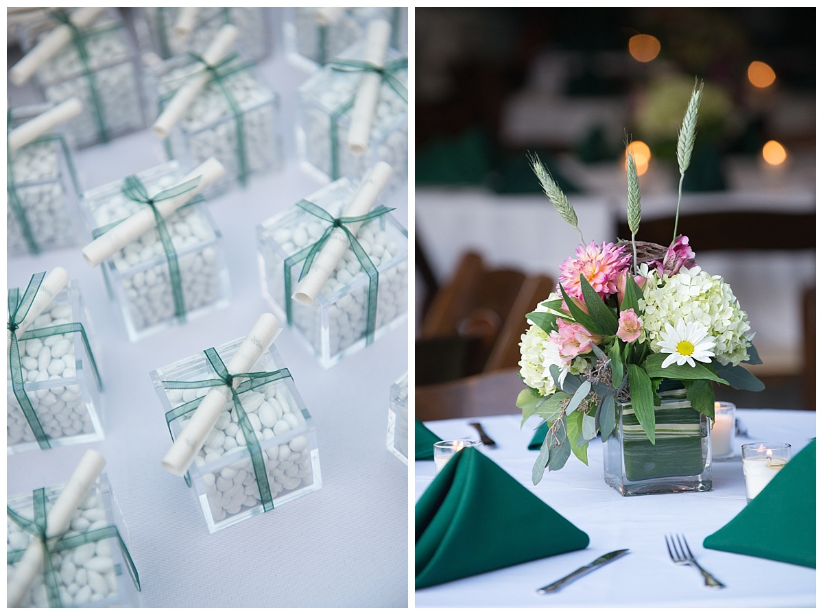 Table centerpieces and party favors