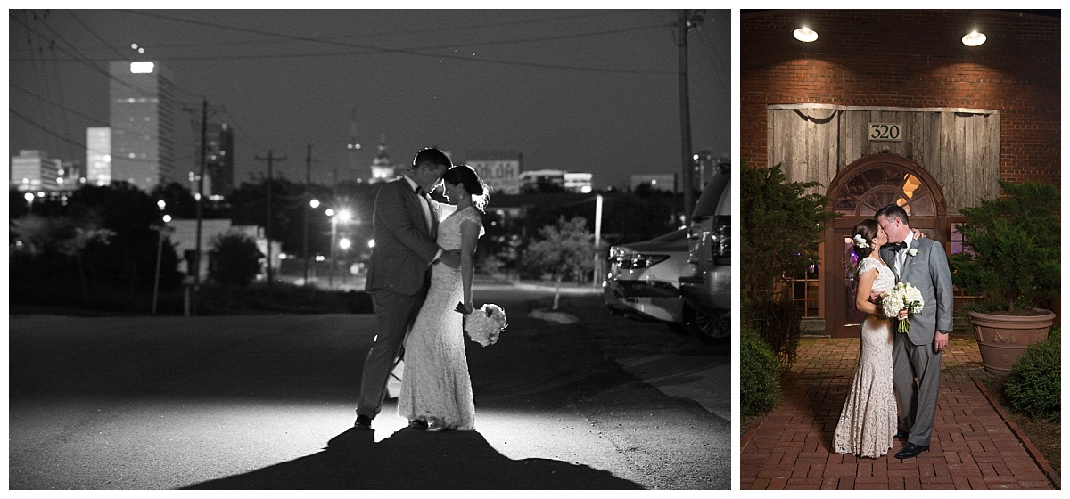 Columbia skyline wedding