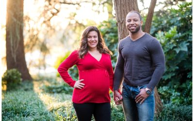 Tiffany's State House Maternity Session