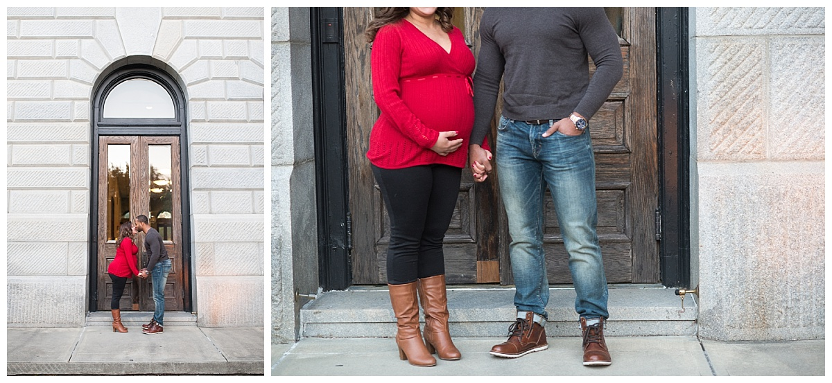 Columbia maternity session