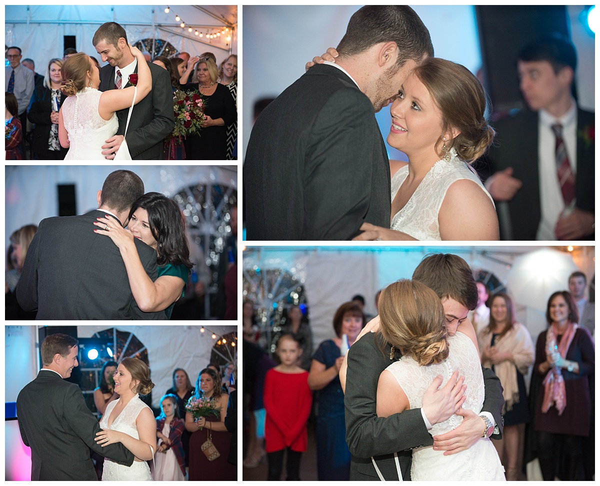 First dances at the River Road and Jasmine House