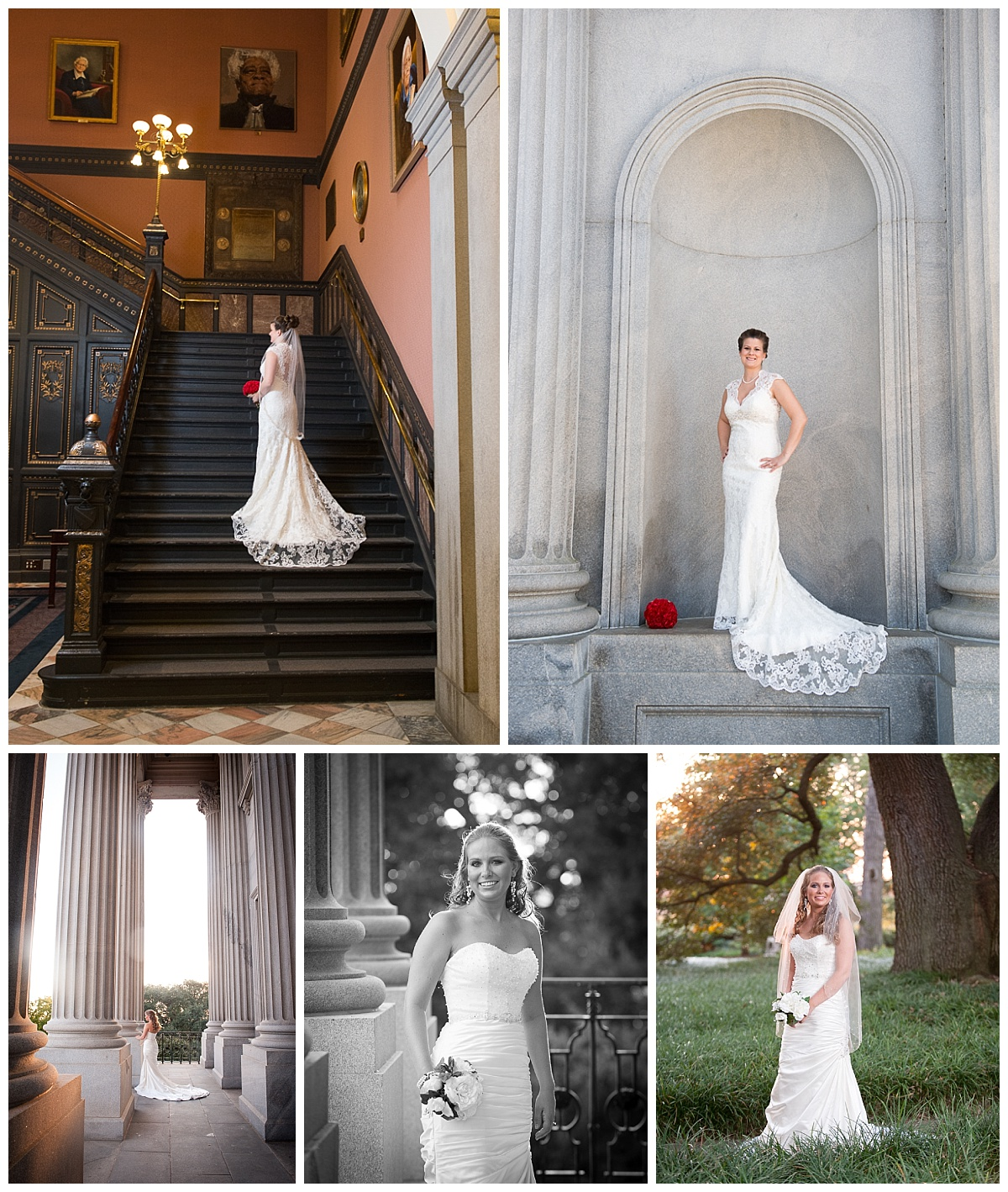 SC State House Bridal Portraits