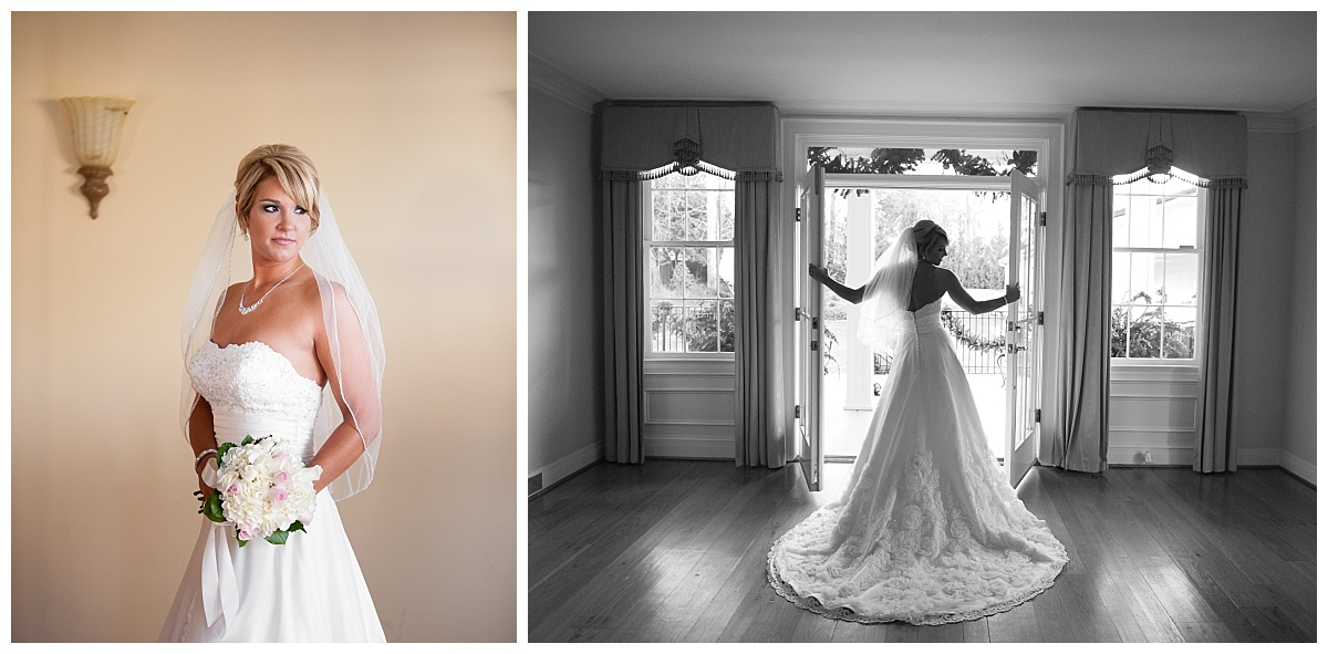 Springdale House bridal Portrait