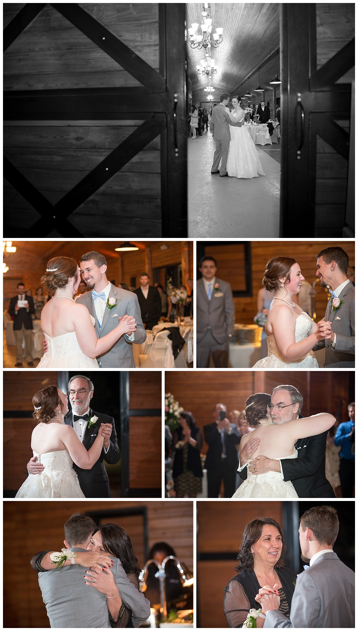 First Dances in the barn