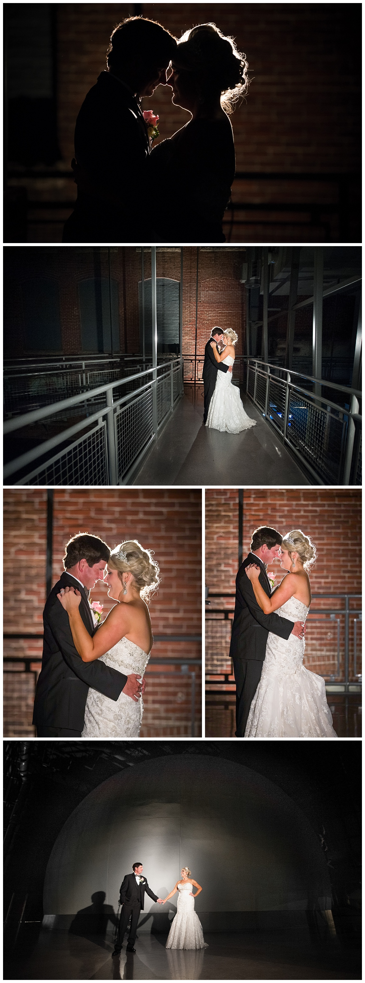 Wedding portraits at SC State Museum planetarium