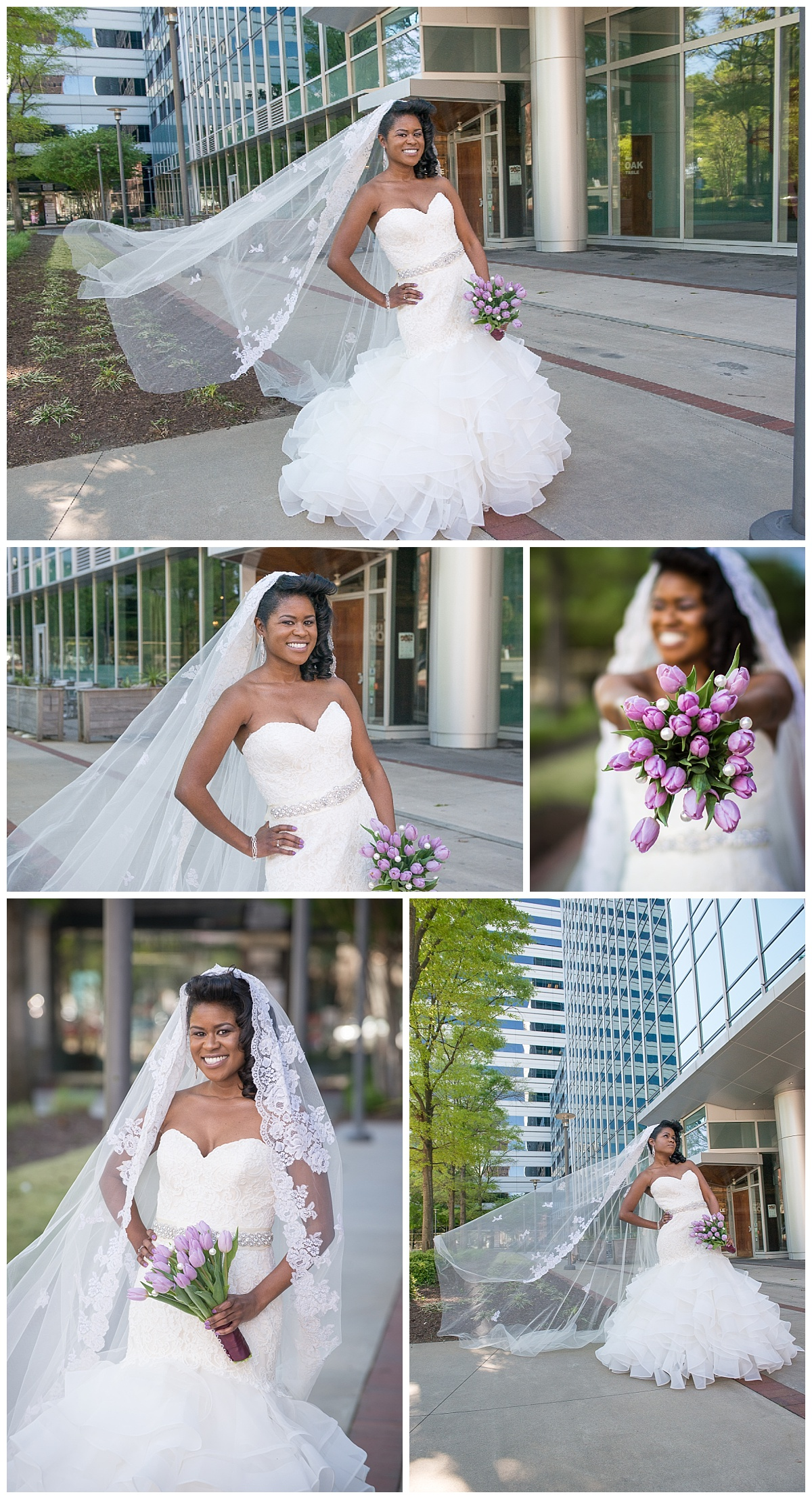 Downtown Columbia bride