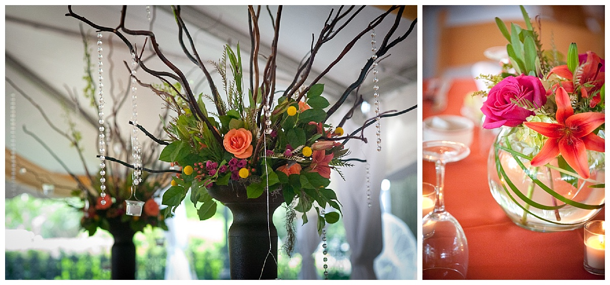 Reception flowers