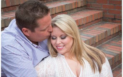 Kelly & Dan- Riverwalk Engagement Session
