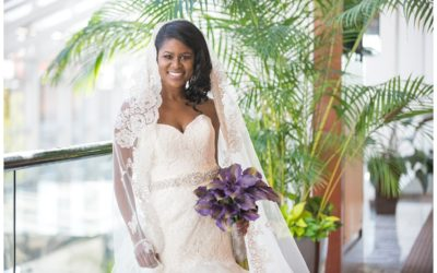 Corina Bridal Portrait- State House