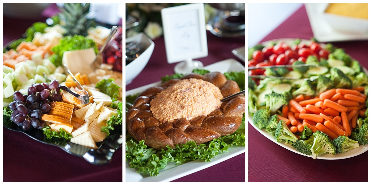dupre catering wedding food