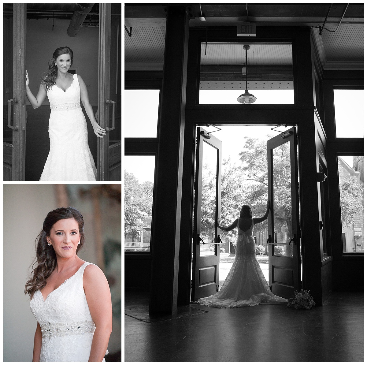 Bride by door at 701