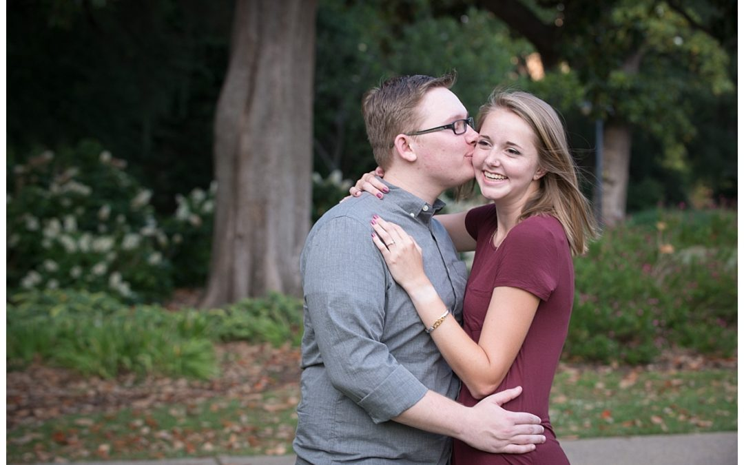 Hannah & James- SC State House Engagement Session