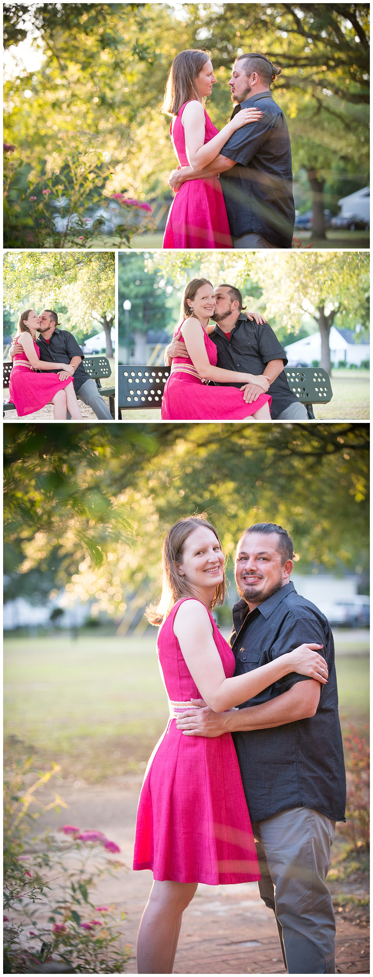 Rosewood columbia sc engagement session