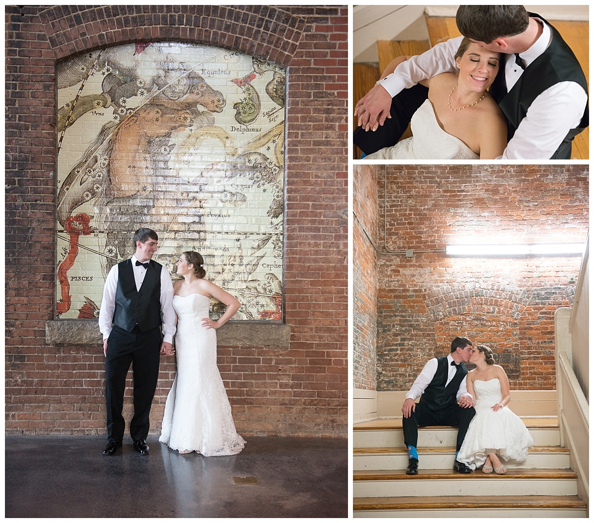 SC State Museum bride and groom