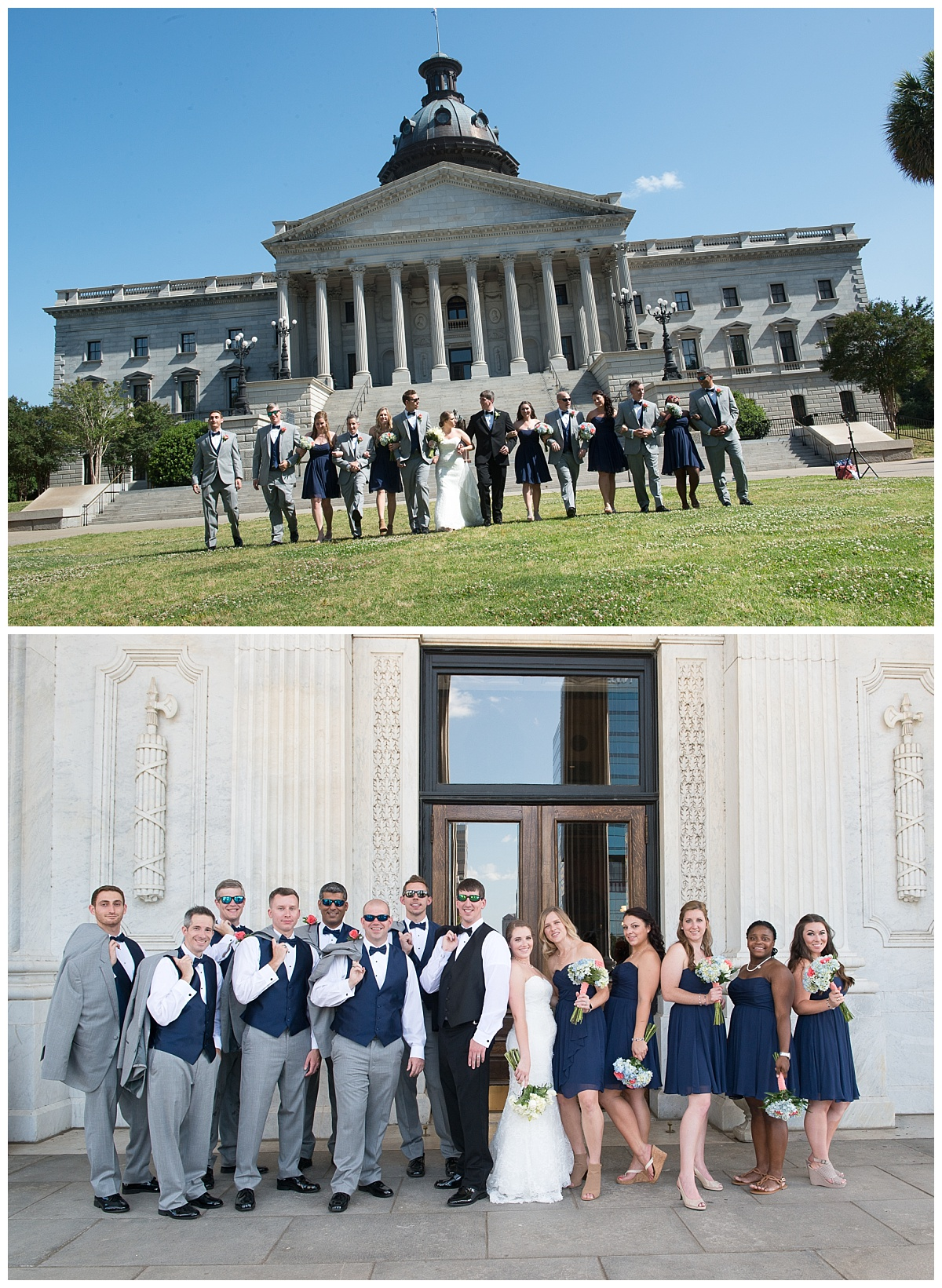 Wedding party at SC State House