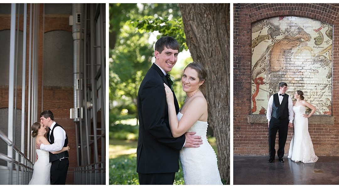 Melissa & Ryan- SC State Museum Wedding