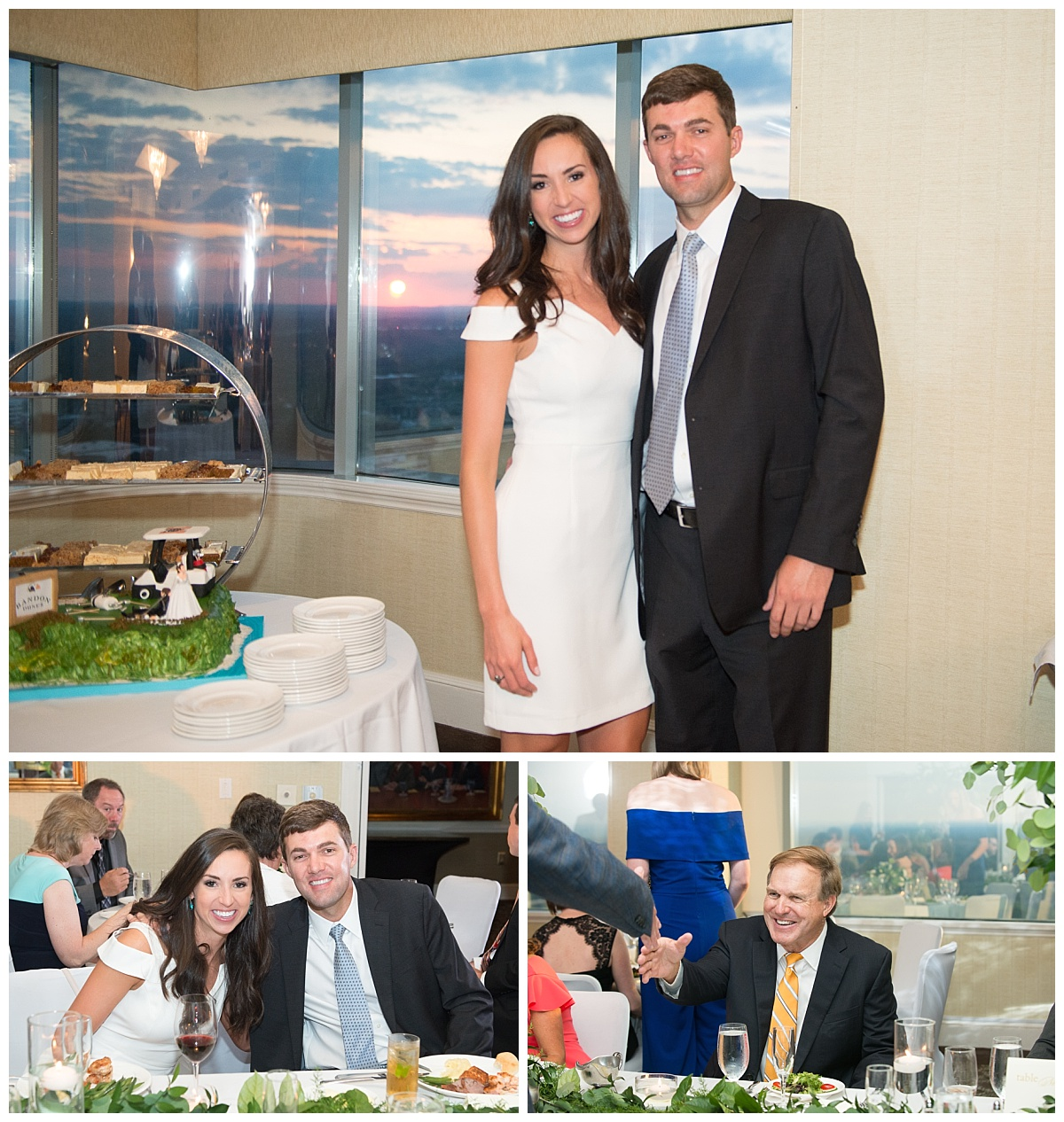 rehearsal dinner at Capital city club