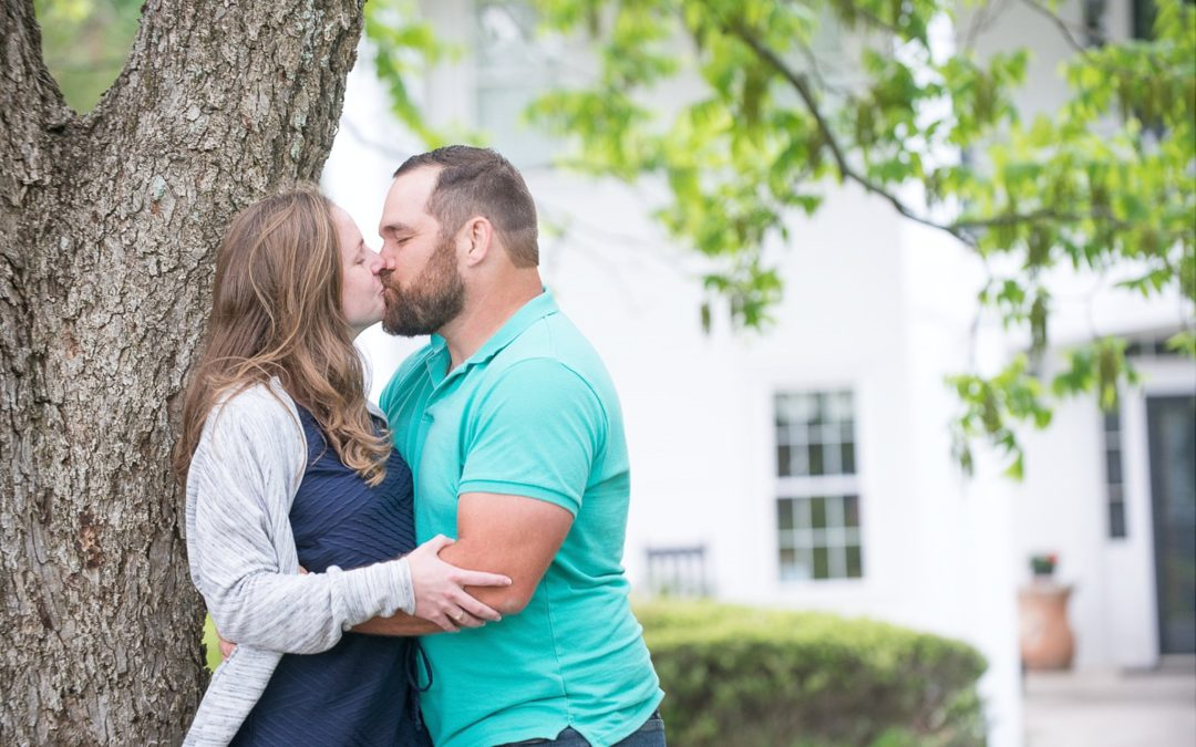 Charron & Ethan Corley Mill House Engagement Session