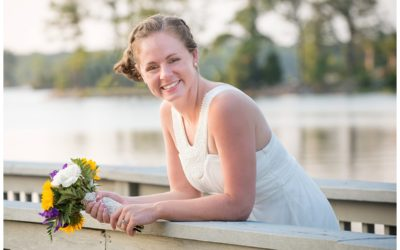 Charron Lake Murray Bridal Portrait