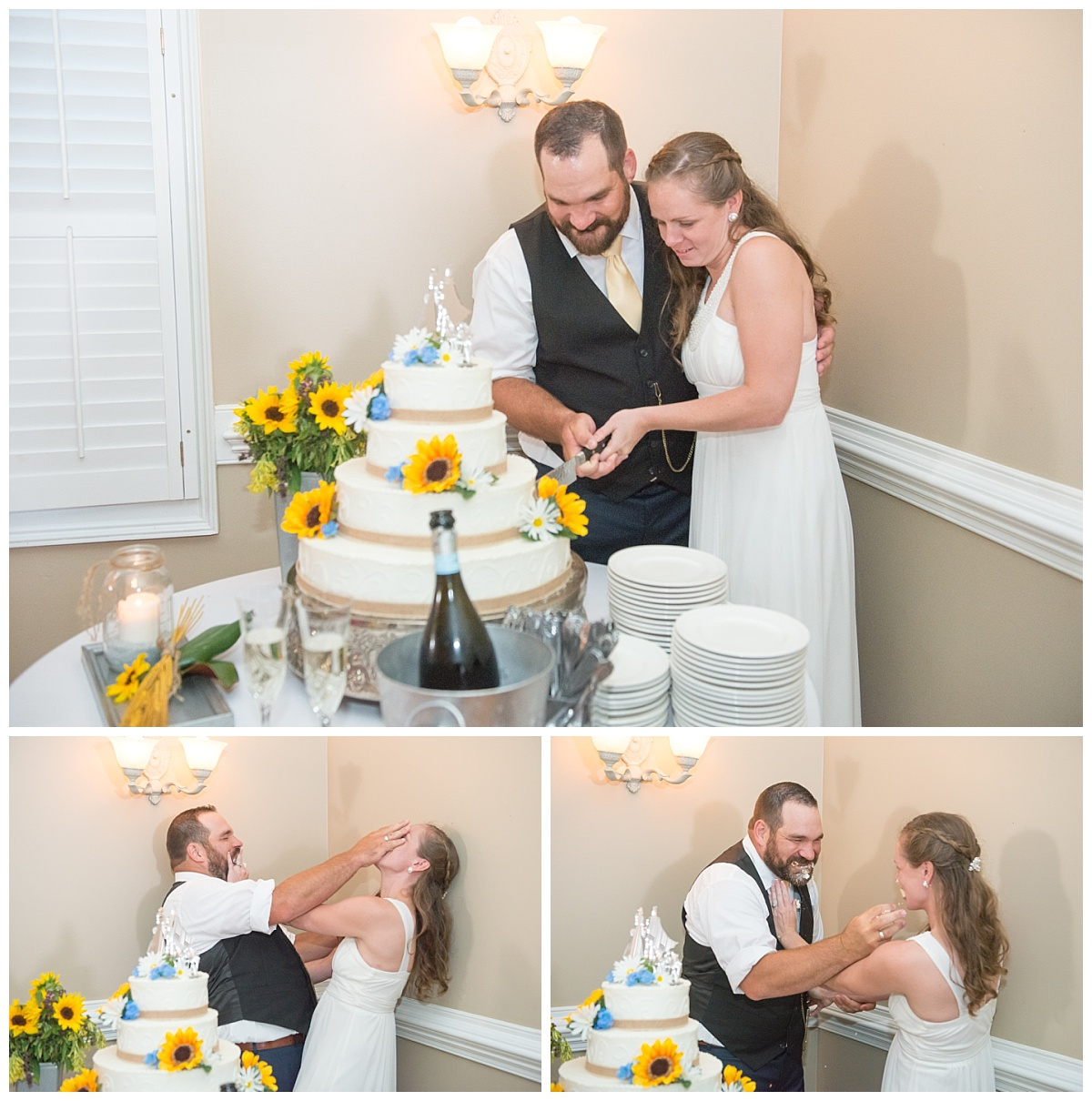 Cake cutting at the corley mill house