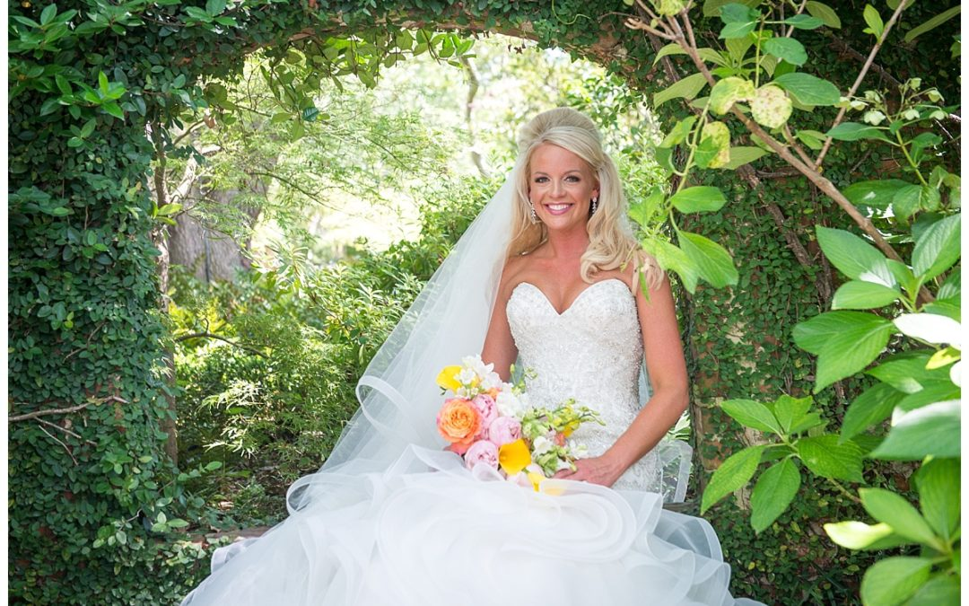 Ashley Lace House Bridal Portrait