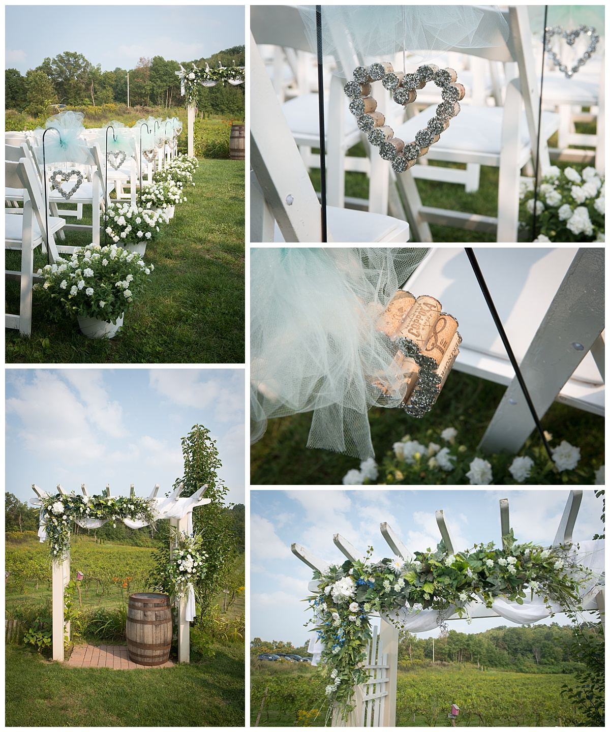 Wine themed ceremony