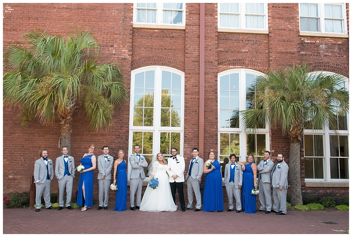 Bridal Party in front of 701 Whaley