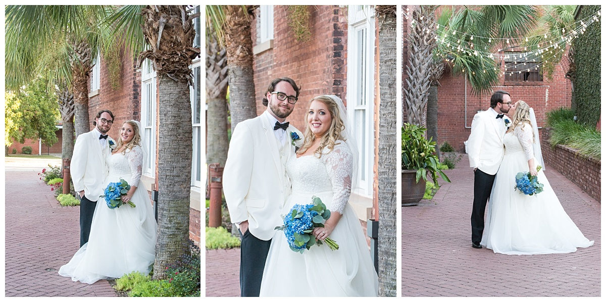 Bridal and groom at 701 whaley alley