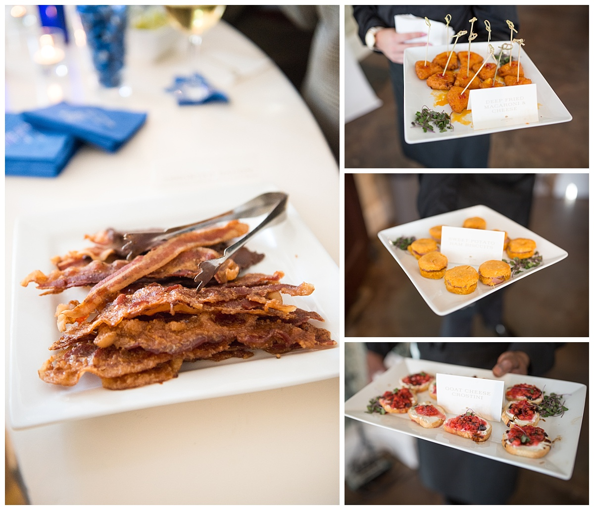 Wedding bacon bar by southern way
