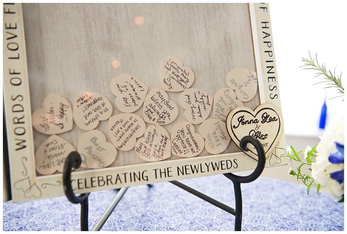 wooden Memory hearts