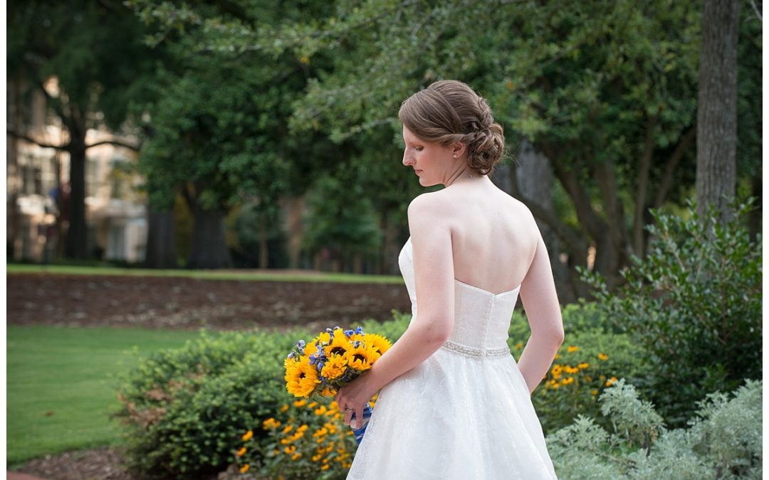 Kristin's Bridal Portraits at the USC Horseshoe