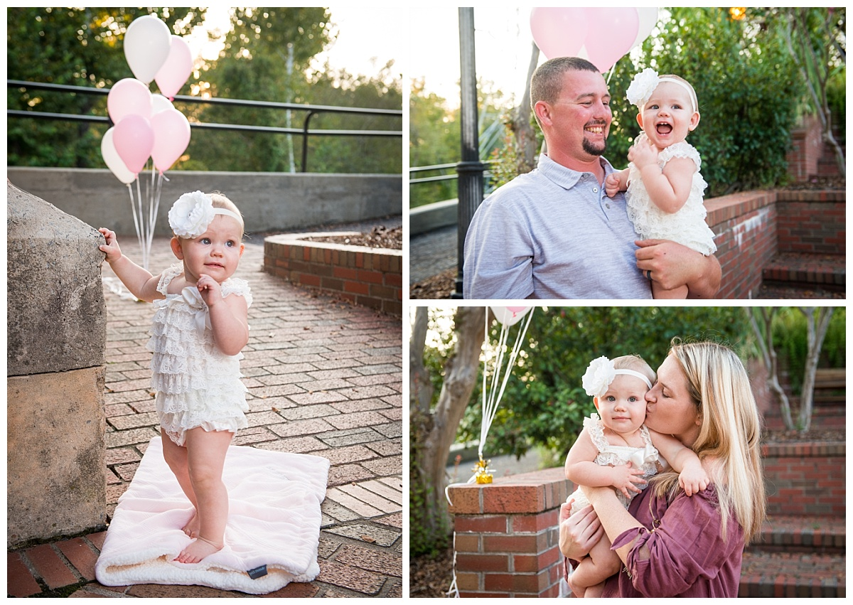 First birthday photos in the park