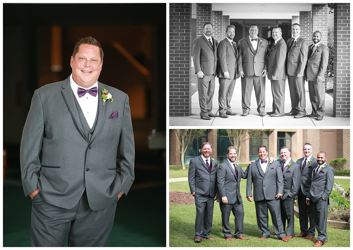 Church groomsmen