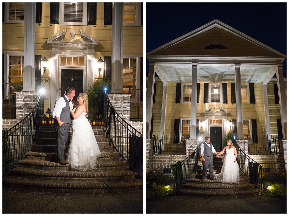 Springdale House bride and groom portraits