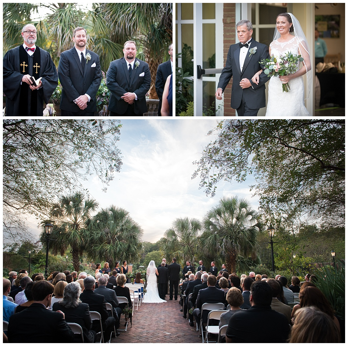 RIverbanks zoo and gardens wedding ceremony