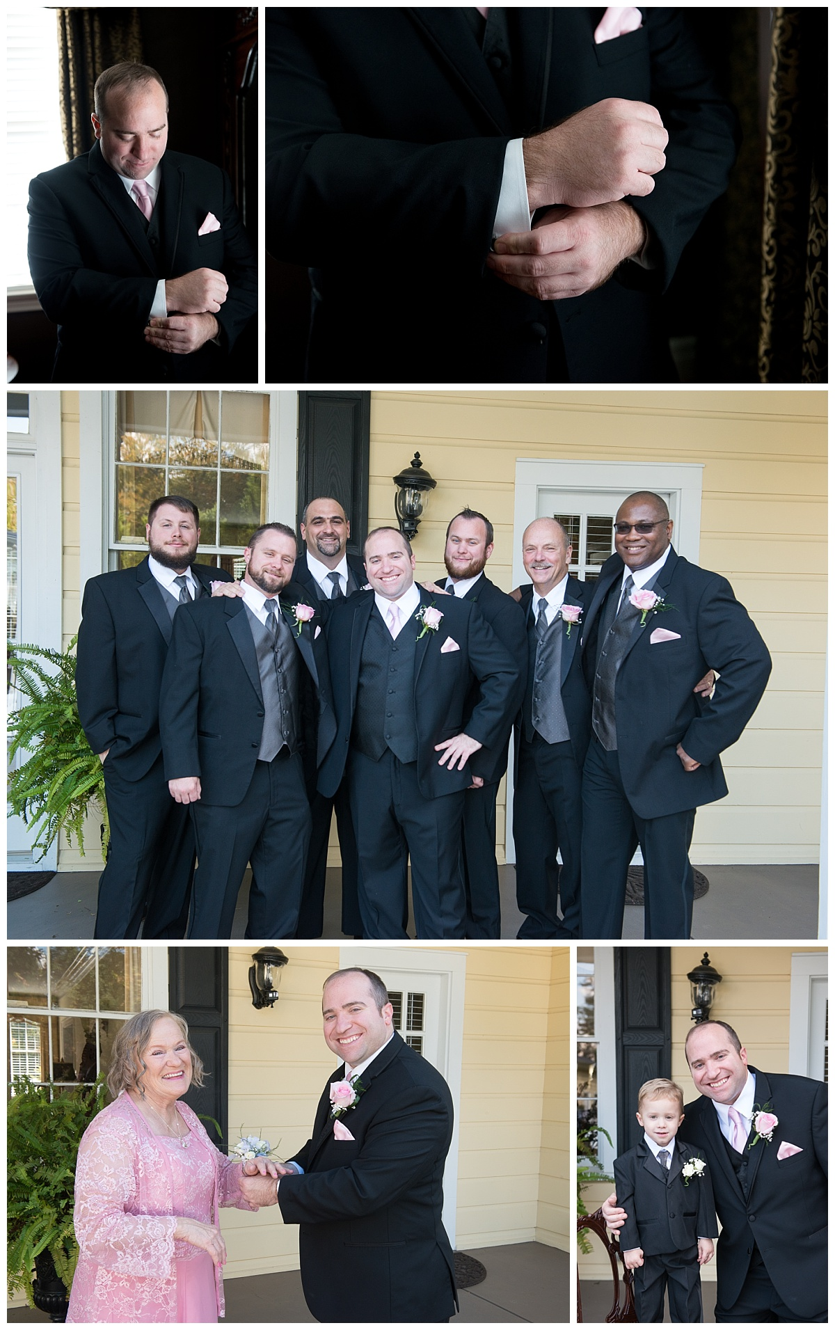 Groomsmen at springdale House